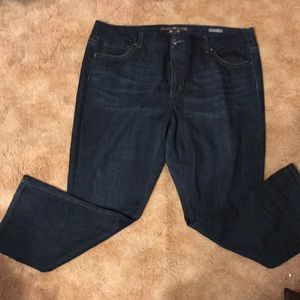 Melissa McCarthy Seven Boot cut Jeans Size 24